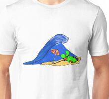 la souris verte a la plage Unisex T-Shirt