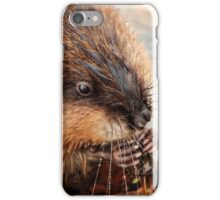 Hungry Little Muskrat  iPhone Case/Skin