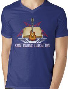 Continuing Education Rocks! Mens V-Neck T-Shirt