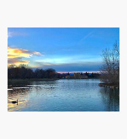 Denver City Park Photographic Print