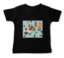 Gnome blue Baby Tee