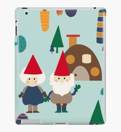 Gnome blue iPad Case/Skin