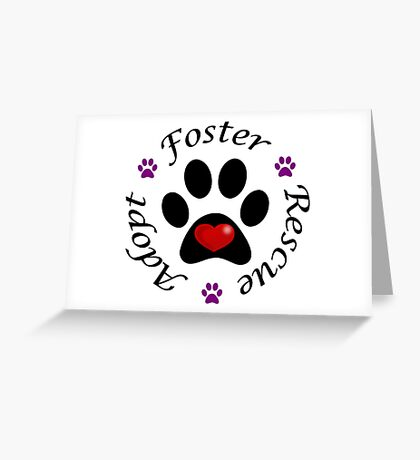 Animal Rescue Greeting Card