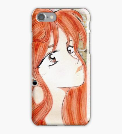 The Girl Who Faced Rejection iPhone Case/Skin