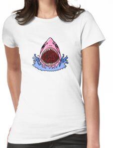 Fluid Sharks Womens Fitted T-Shirt