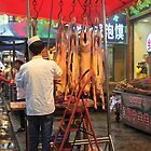 New Zealand lamb in China by sandysartstudio
