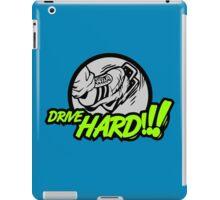 Drive HARD!!! (6) iPad Case/Skin