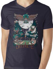 Starter's family: Decidueye Mens V-Neck T-Shirt