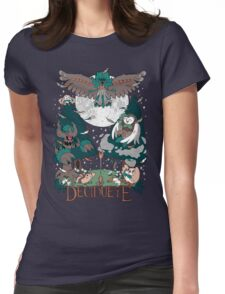 Starter's family: Decidueye Womens Fitted T-Shirt