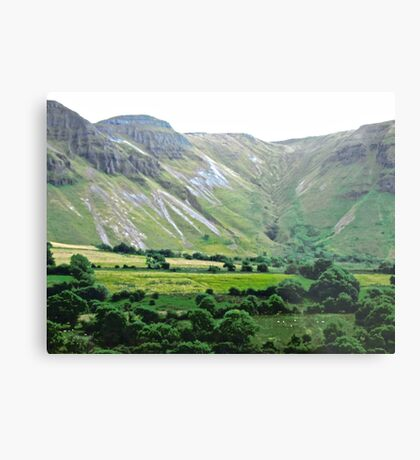 Majestic Mountains, Donegal, Ireland Metal Print