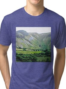 Majestic Mountains, Donegal, Ireland Tri-blend T-Shirt