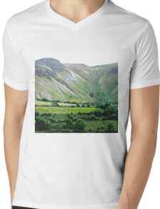 Majestic Mountains, Donegal, Ireland Mens V-Neck T-Shirt