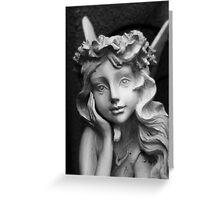 Fairy In The Garden Greeting Card