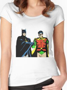 bat n rob Women's Fitted Scoop T-Shirt
