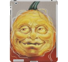 Scary Pumpkin Face iPad Case/Skin