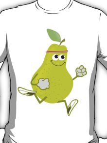 Awesome Running Pear T-Shirt
