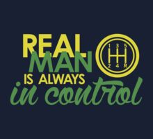 REAL MAN is always in control (2) by PlanDesigner