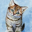 Sweet Tabby Kitten 268 by schukinart