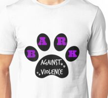 BARK AGAINST VIOLENCE Unisex T-Shirt