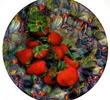 Klimt Strawberry Salad by JanKather
