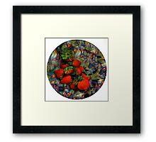 Klimt Strawberry Salad Framed Print