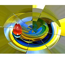 on target  Photographic Print