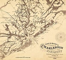 Map of Charleston 1862 by AndrewFare