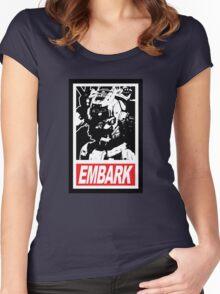 Embark, Pilot Women's Fitted Scoop T-Shirt