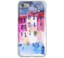 The coloured houses in Portofino iPhone Case/Skin