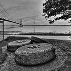 The Millstones and the Humber Bridge by Paul Bettison