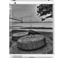 The Millstones and the Humber Bridge iPad Case/Skin