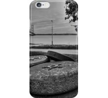 The Millstones and the Humber Bridge iPhone Case/Skin