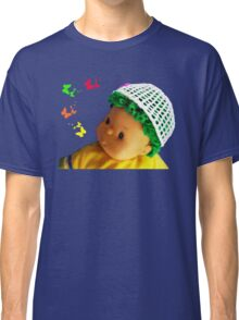 Baby doll with butterflies Classic T-Shirt
