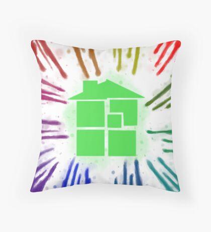 Homestuck hemospectrum pillow Throw Pillow