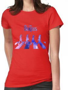 space beat Womens Fitted T-Shirt