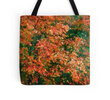 The Beauty of Autumn Out My Window Tote Bag