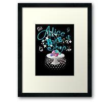 Alice's Bake Shop Framed Print