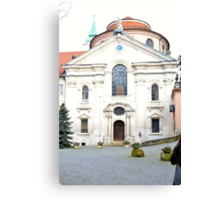 The German Monastery  Canvas Print
