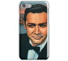 Sean Connery as James Bond Painting iPhone Case/Skin