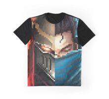 Zed & Yasuo Pixelart Graphic T-Shirt