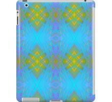 Port Dahlia Electric Blue iPad Case/Skin