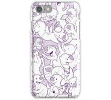 Otterpaloza (purle) iPhone Case/Skin