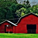 Red Barn by Lisa Taylor