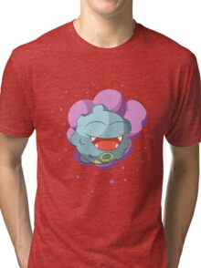 Shiny happy Koffing Laughing Tri-blend T-Shirt