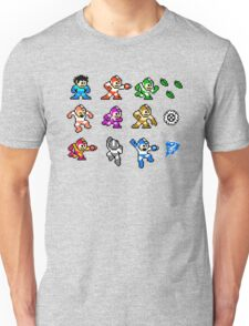 MegaMan Rainbow Unisex T-Shirt