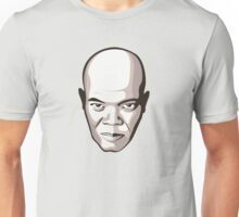 Samuel L. Jackson - Faces Of Awesome Unisex T-Shirt