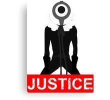 Yomotsu Justice Anime Manga Shirt Canvas Print