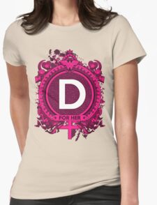FOR HER - D Womens Fitted T-Shirt