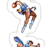 Chun Li Fireball Vertical Sticker