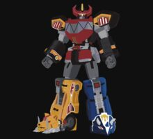 Mighty Morphin Power Rangers Megazord T-Shirt by simplepete